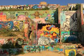 todd v wolfson on castle hill wall art with graffiti park on baylor at castle hill best public art best of