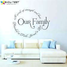 stand principle quote wall decal. Family Circle Quotes Mural Decor Design Removable Wall Art Vinyl Decal Sticker Home Stand Principle Quote