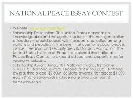 Scholarship Essay Help Peace Scholarship Essay Help