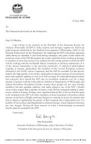 Esaps Letter In Support Of Neh Grant