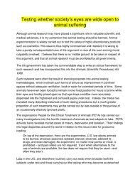 Testing Essay Prompts And Sample Student Essays With Regard To     Excellent Example Of Argumentative On Animal     cutopek   Sample Essays For High School Depression Research Paper