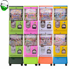 Capsule Toy Vending Machine Enchanting China Coin Operated Funny Two Player Capsule Toy Vending Machine