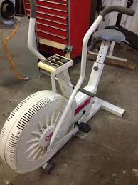 fan exercise bike. bid fan exercise bike a