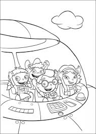 Little Einsteins Coloring Page Little Einsteins Pages Kids N Fun 27