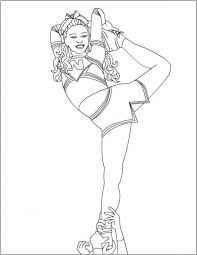 20 Best Cheerleading Coloring Pages Images On Pinterest Coloring