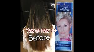 Donker Haar Blond Verven Polycolor 97