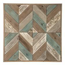 herringbone wood wall decor