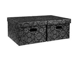Decorative Cardboard Storage Boxes With Lids Cardboard Storage Boxes eBay 7