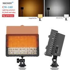 Cn 160 Led Video Light Battery Neewer Cn 160 160 Led Video Light On Camera Light For Canon