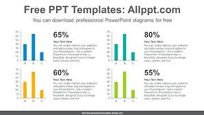 Four Vertical Bar Chart Diagram Template Image Charts And Diagrams ...