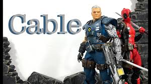 Mezco Toyz One:12 Collective X-Men CABLE Action Figure Review - YouTube