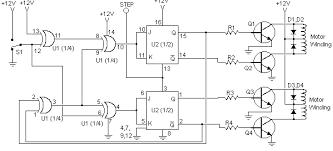 stepper motor control circuit diagram info stepper motor controller wiring circuit