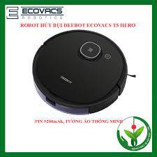 MÃ ELHAXU9 hoàn tối đa 1 TRIỆU xu] Robot hút bụi lau nhà DEEBOT Ecovacs T5  Hero (DX96) giảm chỉ còn 7,300,000 đ