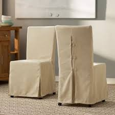willa slipcover parsons chair set of 2