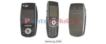 Samsung E880 - scheda tecnica ...
