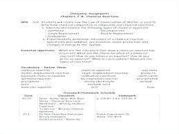 worksheet writing and balancing chemical reactions