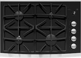 ge jgp940s 30 inch gas cooktop with 4 sealed burners powerboil 15 000 btu burner precise simmer burners ceramic glass cooktop control lock