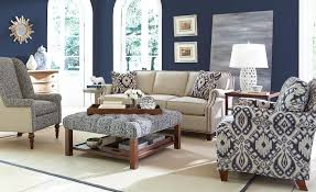 Transitional Design Living Room Craftmaster Nichols Transitional Sofa With Brass Nailheads Also