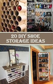 20 clever diy shoe storage ideas within shelf diy