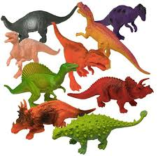 best clic toy prextex plastic orted dinosaur figures with dinosaur book