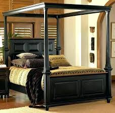 Queen Size Canopy Bed Frame Canopy Bed Full Size Brilliant Full Size ...