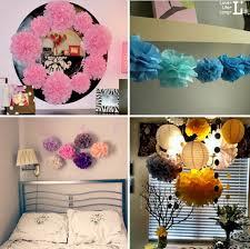 Hanging Pom Pom Decorations Popular Hanging Tissue Paper Pom Poms Buy Cheap Hanging Tissue
