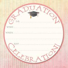 printable graduation cards free online 40 free graduation invitation templates template lab