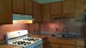 Penny Kitchen Floor Diy Penny Backsplash Youtube