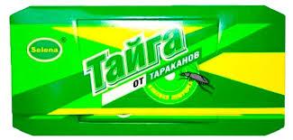 Купить <b>Ловушка</b> от <b>тараканов</b> «Тайга» клеевая с доставкой по ...