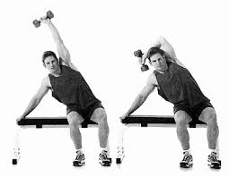 unilateral overhead triceps extension with lean for bigger triceps