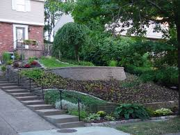 Small Picture Landscapingfor slopped front yards steep front yard with a