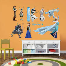 Small Picture Frozen Characters Representation Wall Sticker Online Shopping