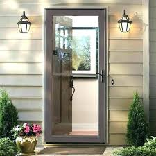 all glass storm door mobile home storm door replacement mobile home storm door replacement exterior doors