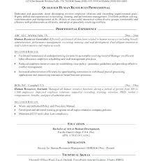 Human Resource Resume Objective C Programming Homework Help Equity