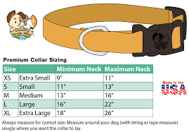 Small Dog Collar Size Chart Deluxe Tie Dye Stripes Dog Collar