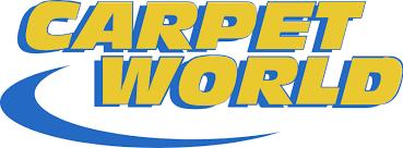 carpet world. carpet world logo \u0026 flooring