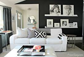 gorgeous living rooms with black walls