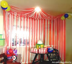 circus party diy circus tent tents corner and circus party carnival themed birthday party decorations