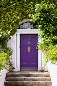 Awesome 90+ Front Door Colors For White House Design Decoration Of ...