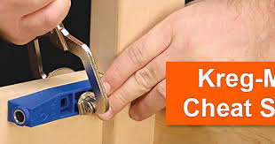 Kreg Mini Cheat Sheet