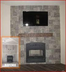 brick refacing amazing refacing brick fireplace with tile elegant fireplace