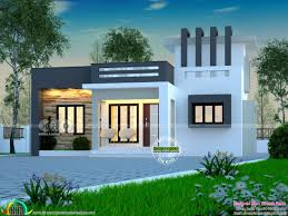 one y house plans in kerala awesome 1775 sq ft flat roof one floor home of