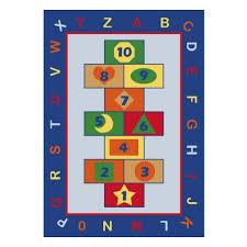 <b>Детский ковер CONFETTI KIDS</b>, 133х190см RUGS GAME, синий ...