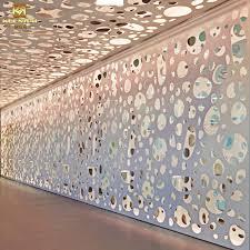 decoration aluminum interior paneling