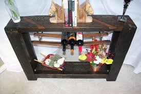 sofa table with wine storage. Sofa Table With Wine Storage Sofa Table With Wine Storage G