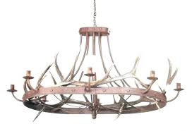 round wood light fixture rustic chandelier lighting chandeliers industrial ceiling fan