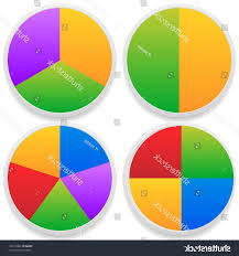 Create Free Pie Chart Hd Vector Pie Charts With Graphics Drawing Free Vector Art