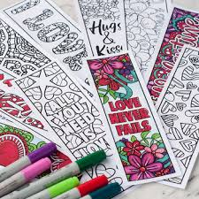 I'm so excited to share these printable coloring bookmarks with you! Printable Bookmarks To Color Worksheets Teachers Pay Teachers