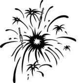 fireworks clipart black and white transparent. Delighful White Firework Clipart Inside Fireworks Clipart Black And White Transparent H