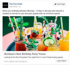 advertisements ideas facebook birthday advertisement ideas conversion creative lead